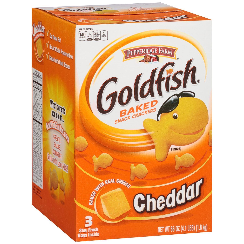 Pepperidge Rare Farm Goldfish Cheddar Baked oz. Store Crackers Snack 66 3