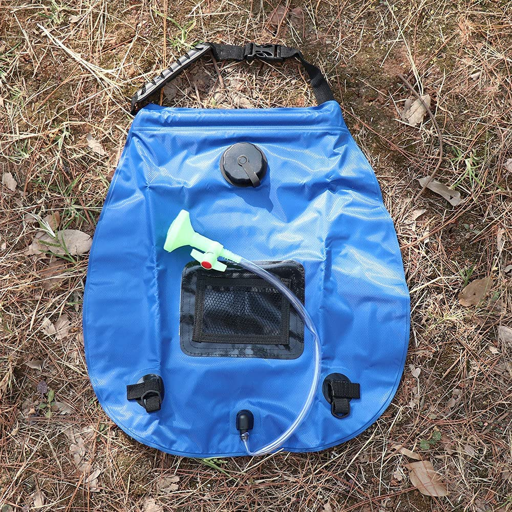 CUICHENG Portable Outdoor Solar Shower 5 Bag In stock Bargain Gal Camp