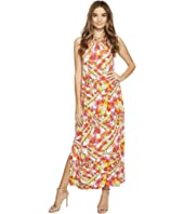 Christin Michaels - Bors Printed Maxi Dress