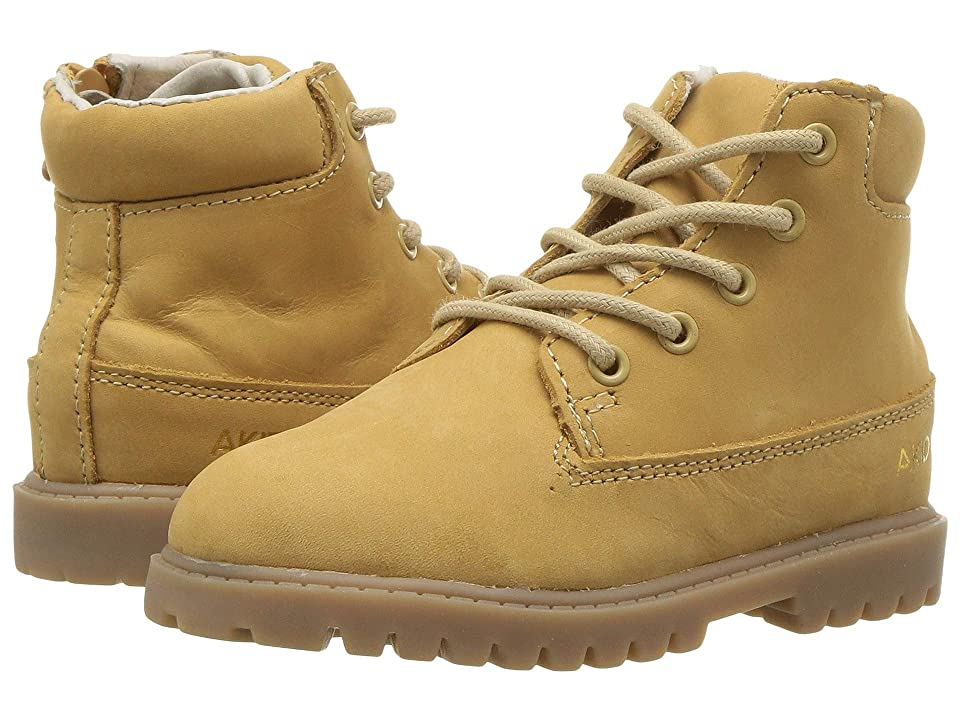 Image of AKID Brand Atticus (Toddler/Little Kid/Big Kid) (Tan) Kid's Shoes