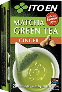 ITO EN Matcha Ginger Green Tea, 20 s