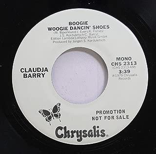 Claudja Barry 45 RPM Boogie Woggie Dancin'' Shoes / Boogie Woogie Dancin'' Shoes