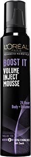 L'Oreal Paris Hair Care Advanced Hairstyle Boost It Volume Inject Mousse, 8.3 Ounce