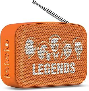 Saregama mini speaker 2.0 bluetooth speaker (Vivid Orange)