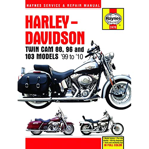 Harley-Davidson Twin Cam 88 covering Softail (00-10), Dyna ... on