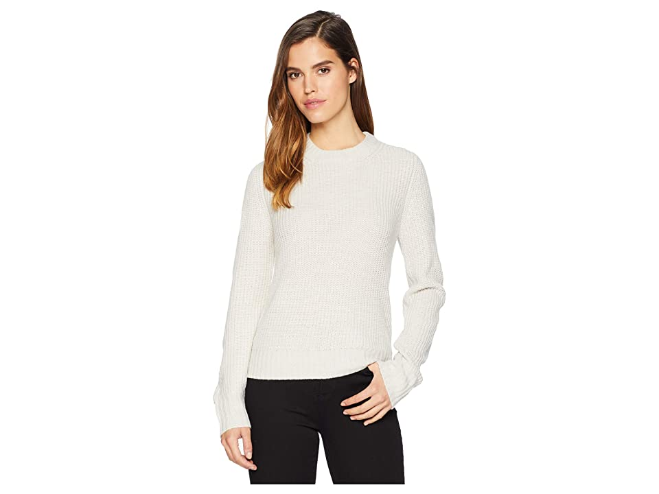 Sanctuary Open Back Sweater (Heather Salt) Women