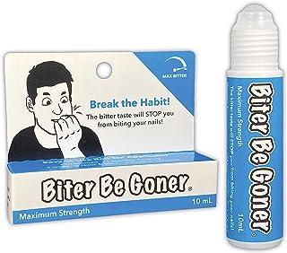 توقف نیش زدن ناخن | بازدارنده گاز گرفتن ناخن | بدون دود | براق نیست | Biter Be Goner ، 0.3 اونس
