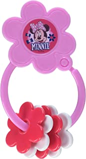 Disney Minnie Mouse Star Shape Keyring Teether