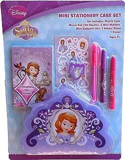 Princess Sofia Mini Stationary Case Set