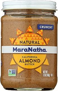 MaraNatha All Natural Almond Butter, Crunchy, 12 oz