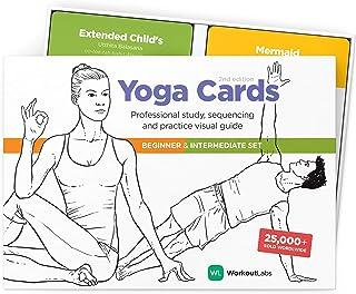 بطاقات يوغا من WorkoutLabs I & II - مجموعة كاملة: دراسة احترافية، تسلسل الصف ودليل التمرين · بطاقات فلاش لليوجا Sanskrit ا...