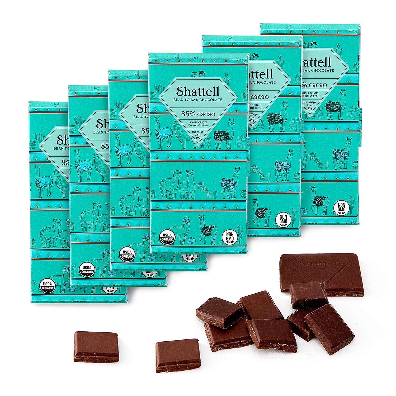 Washington Mall Shattell 85% Chuncho Cacao Dark Chocolate Bean Ranking TOP15 Gourmet Bar to