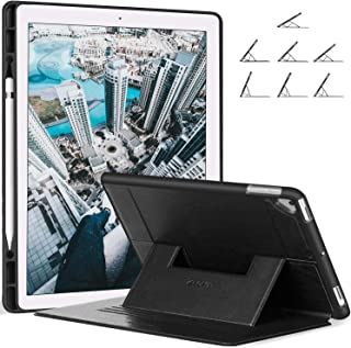 Ztotop Case Compatible with iPad Pro 12.9, Secure Magnetic Stand Folio Case with Auto Wake/Sleep, Pencil Holder, Soft Silicone Back Cover for Apple iPad 12.9-Inch 2017/2015, Black