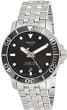 Tissot mens Seastar 660/1000 Stainless Steel Casual Watch Grey T1204071105100