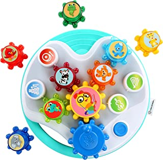 Baby Einstein Symphony Gears Musical Gear Toddler Toy with Lights and Melodies, Ages 12 months and up