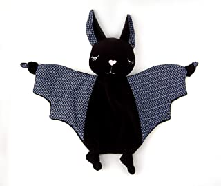 Halloween Baby Security Blanket Lovey Plush Bat