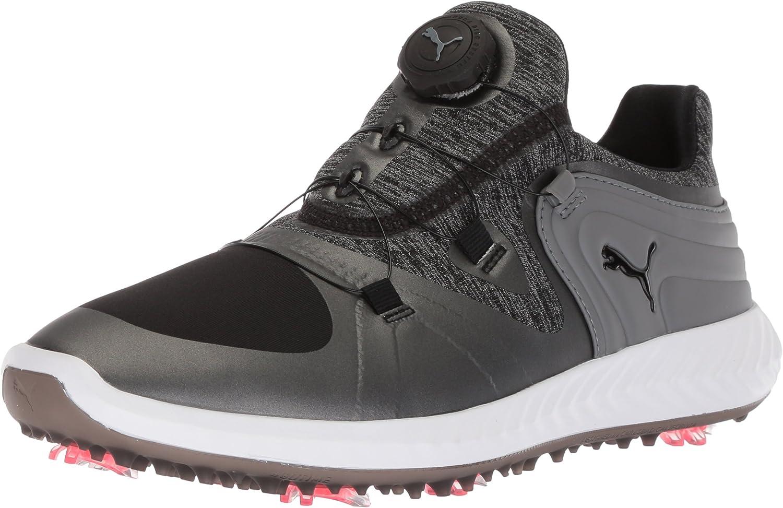 Puma Golf Women's Ignite Blaze Shoe Opening large release Low price sale Steel Sport Disc Black