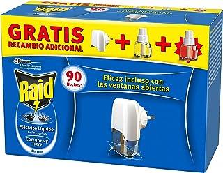 Raid Eléctrico Anti Mosquitos Comunes y Tigre 90 Noches con
