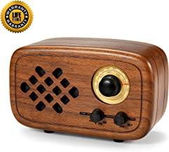 Best rerii handmade walnut wood portable bluetooth speaker Reviews