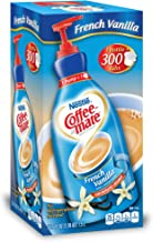 Nestle Coffee Mate Coffee Creamer, French Vanilla, Liquid Pump Bottle, 50.7 Fl. Oz (Pack of 1)