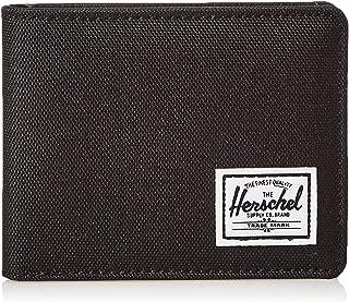 Herschel Unisex-Adult Hank RFID Wallet, Black - 10368