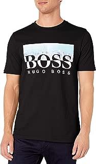 Hugo Boss Men's Tee 7 Logo Print T-Shirt