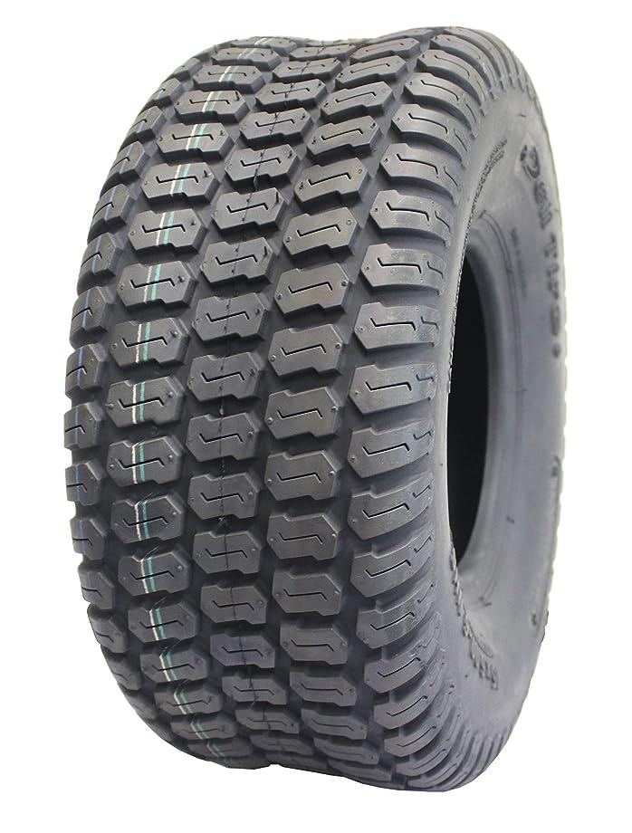 Deli Tire S-374, Turf Tread, 4 Ply, Tubeless, Lawn and Garden Tractor Tire (15x6.00-6)
