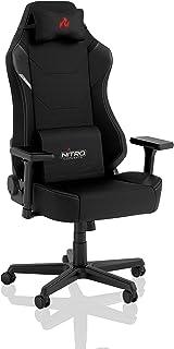 Nitro Concepts X1000 Silla de Gaming - Silla de Oficina - Cubierta de Tela - 135 kg - Negro