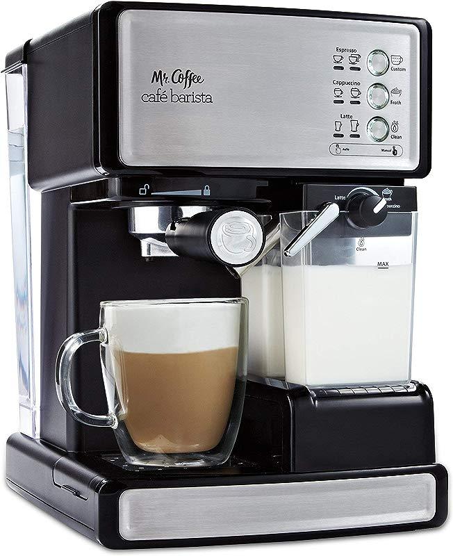 Mr Coffee Cafe Barista Espresso And Cappuccino Maker Silver Renewed