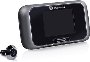 """Smartwares VD27 Deurspion – Camera – 2,8"""" kleuren LCD scherm – Werkt op batterijen, Zwart"""