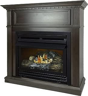 Pleasant Hearth 42 Intermediate Natural Gas Vent Free Fireplace System 27,500 BTU, Rich Tobacco