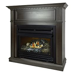 Pleasant Hearth 42 Intermediate Natural Gas Vent Free Fireplace System