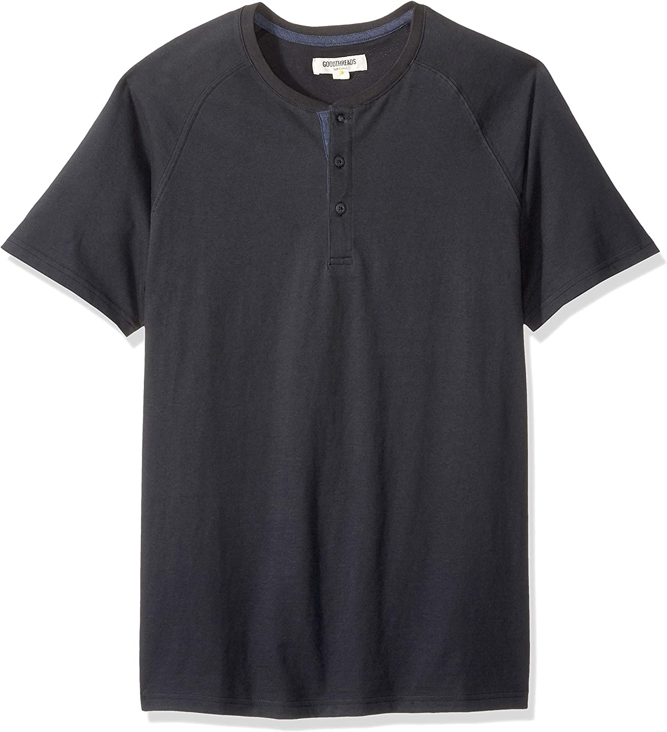 Goodthreads New item Men's Short-Sleeve Sueded Jersey Animer and price revision Henley