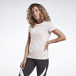 Reebok TE MARBLE LOGO T-Shirt For Women, Size
