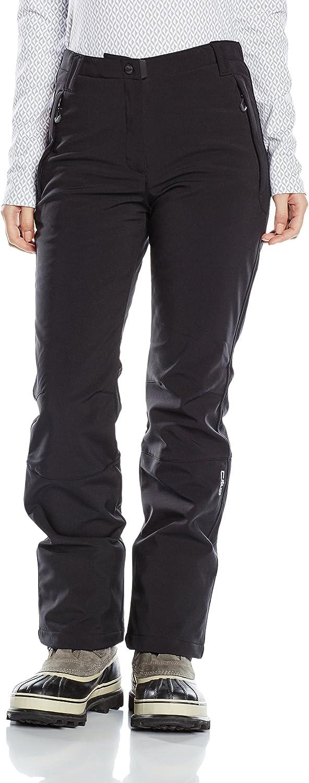 CMP pantalon Softshell pour femme 38 black  black