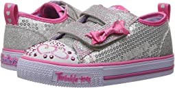 SKECHERS KIDS Twinkle Toes - Shuffles Itsy Bitsy 10764N Lights (Toddler/Little Kid)