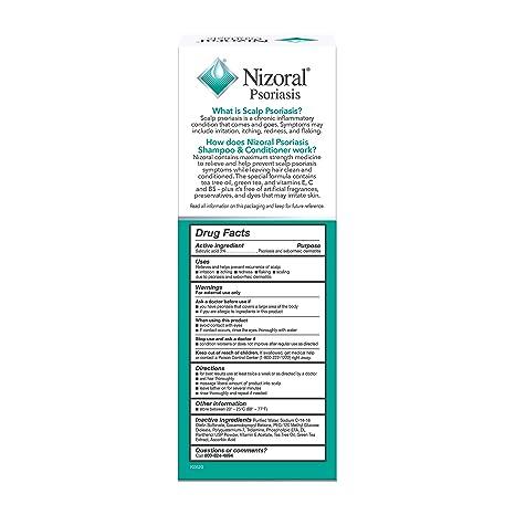 nizoral psoriasis shampoo ingredients