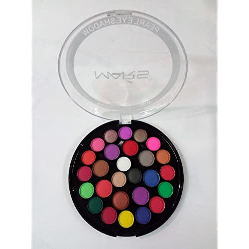 Mars Easyshop Matte Eyeshadows Pallette with Set of 27 Colours