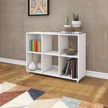 TecnoMobili Wooden Bookcase E1719 - White