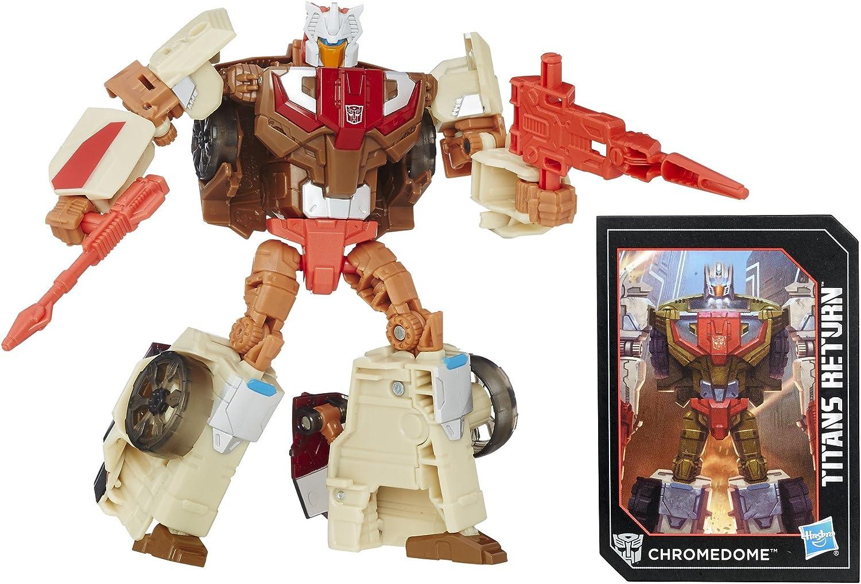 cómodamente Transformers Transformers Transformers Generaciones Titans retorno Titan Master Autobot Stylor y chromedome  salida de fábrica