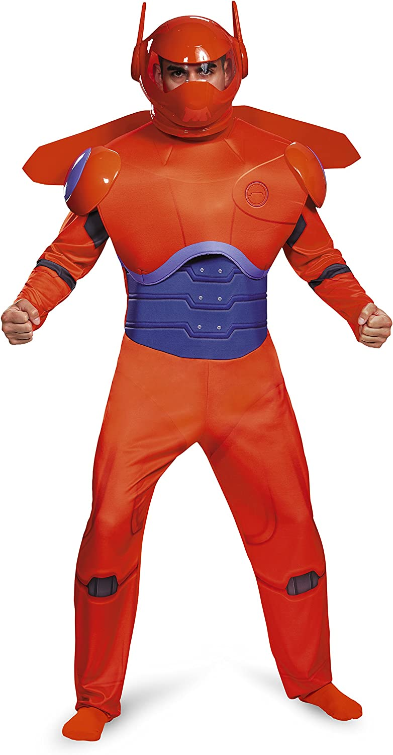 Disguise Red Baymax Deluxe Adult Costume XXLarge (5052)