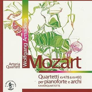 Wolfgang Amadeus Mozart : Quartetti per pianoforte e archi, KV 478 & KV 493, Klavierquartette (Artaria Quartett)
