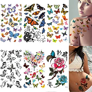 Best butterfly tattoo temporary Reviews