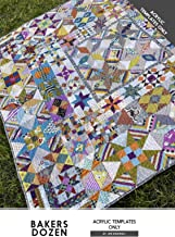 Bakers Dozen Acrylic Templates Only Jen Kingwell Quilting