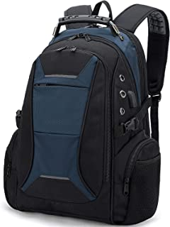 Travel-Laptop-Backpack for Men, 17 Inch Laptop Back pack Bag with Compartment USB Charging Port