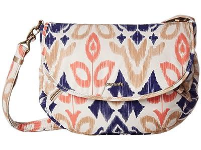 Pacsafe Stylesafe Anti-Theft Crossbody (Ikat Coral) Handbags