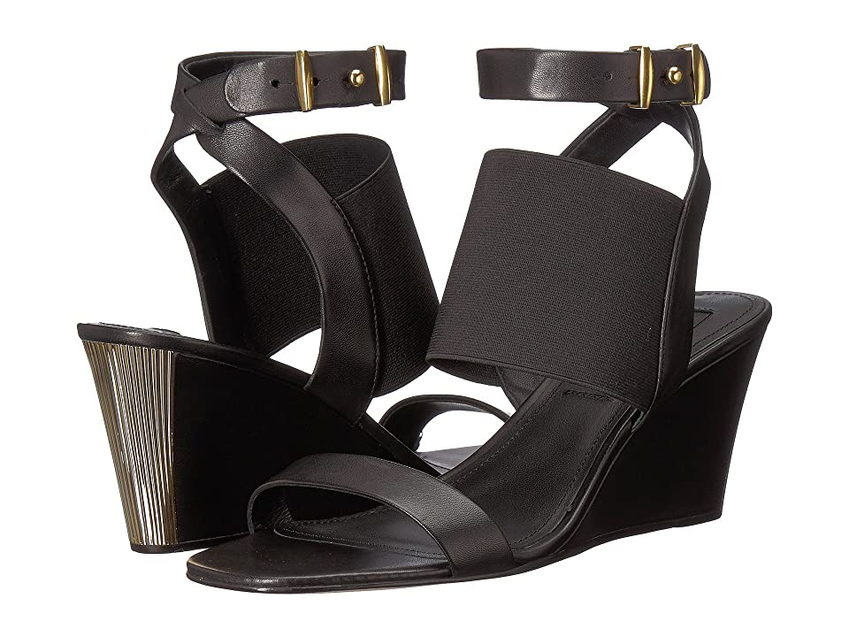 213e7c0bb8 Donna Karan Gili (Black Nappa Elastic) Women s Shoes