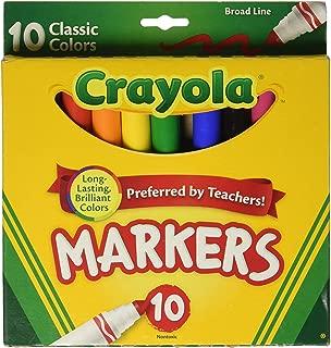 Crayola 繪兒樂 10色粗頭水筆(經典色)58-7722
