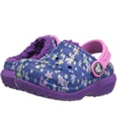 Crocs Kids - Classic Lined Graphic Clog (Toddler/Little Kid)