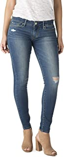 Signature by Levi Strauss & Co. Women's Low Rise Premium Stretch Jeggings (Medium Wash)